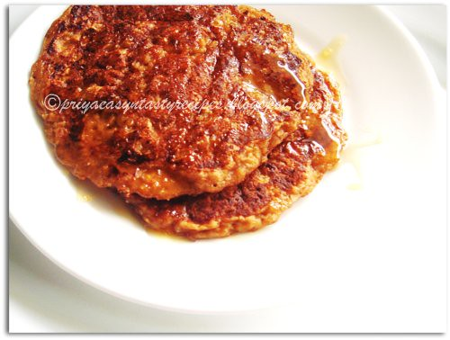 Caramel Flavoured Barley,Oats Pancakes