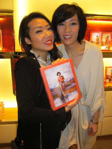 winifred book launch at LV store