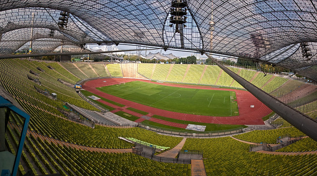Munich Olympic Stadium...