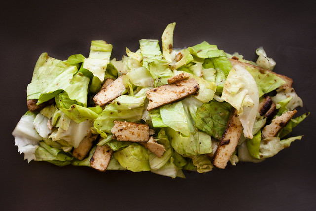 Vegan Cambodian Hot and Sour Beef Salad