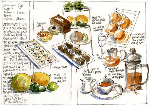 110312_06 Sketchabout1 Afternoon Tea