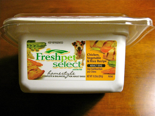 Freshpet Select Chicken Vegetable & Rice recipe