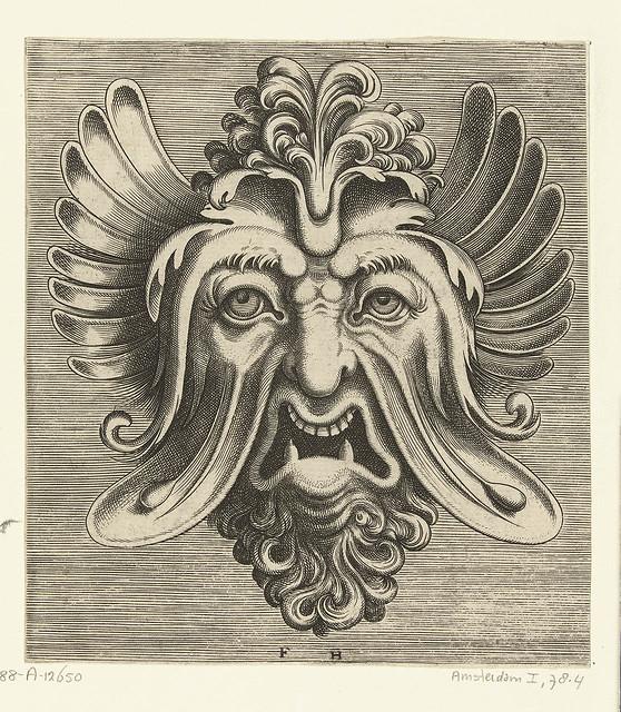 grotesken Maske 16th c