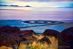Spiral Jetty (Bill Gerrard (Primary Colors)) Tags: utah greatsaltlake spiraljetty robertsmithson billgerrard rezelpoint