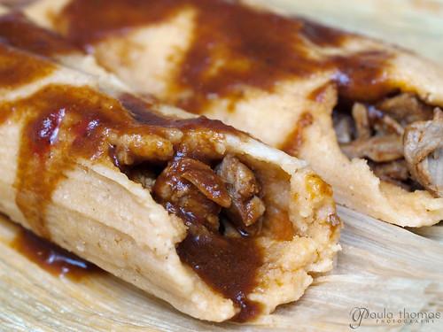 Nuevo Leon Style Pork Tamales
