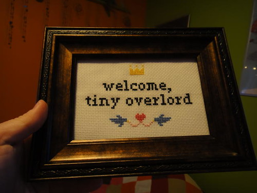 Welcome, tiny overlord.
