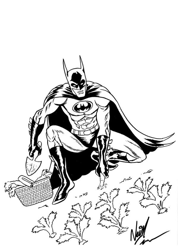 gardening batman