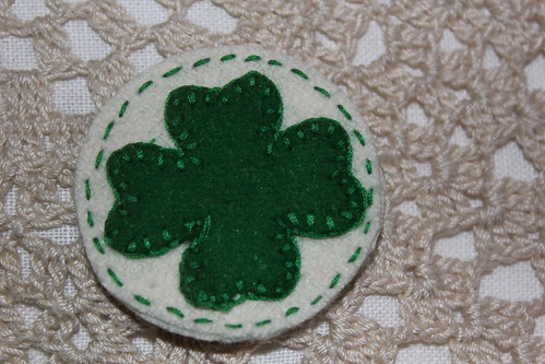 st patricks brooch