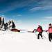 Schneeschuhe Seiser Alm / Snow boots