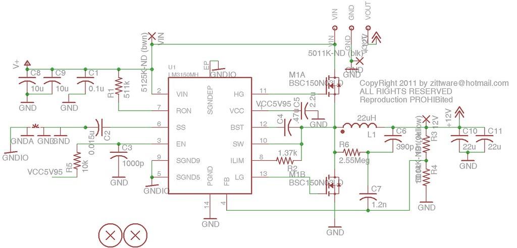 12V >2A Switcher