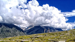 Rohtang Paas, India. (whoisnd) Tags: sky people india green clouds canon amazing hp rocks stones shapes worker nomad manali himachal nitin rohtang anawesomeshot nitindangwal