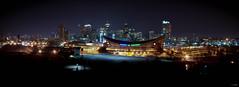 Saddledome.jpg (Digital Webb) Tags: city panorama canada calgary night canon landscape eos lowlight alberta nightshots xti 400d rebelxti canonxti canoneosdigitalrebelxti