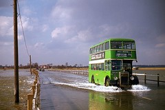 B6  Mersea Mar1963 (Ron Fisher) Tags: mersea bristolbuses