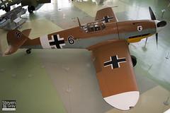 G-USTV - 10639 - RAF Museum - Messerschmitt Bf-109G2 Trop - 060703 - Hendon - Steven Gray - CRW_8623