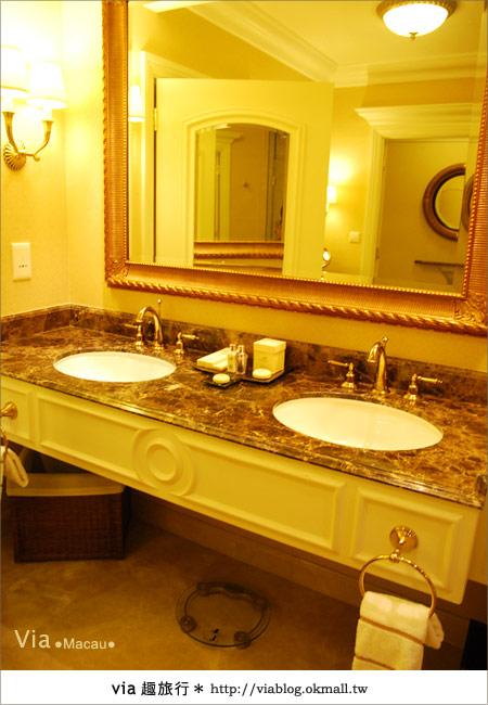 【澳門住宿】澳門威尼斯人酒店~享受奢華的住宿風格!32