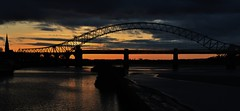 Sunset (Keo6) Tags: sunset runcornbridge