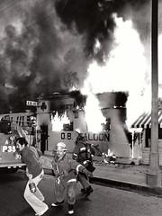 O.B. Saloon fire Circa 1970s