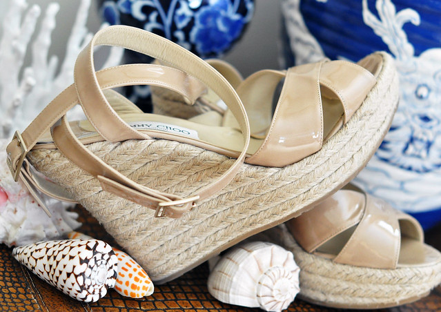 espadrilles, espadrille wedges, jimmy choo shoes, jimmy shoe, shells, shoes, espadrille wedge sandals, jimmy choos, DSC_0735