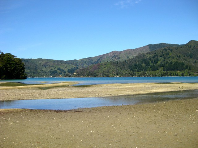 Davies Bay, Queen Charlotte Sound, New Zealand