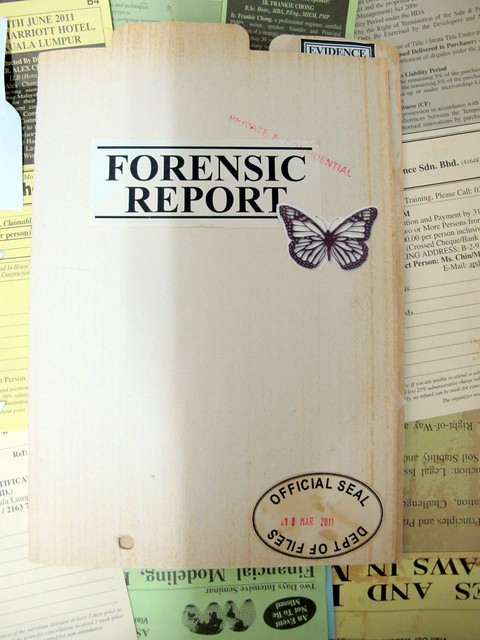 report on collecting forensic evidence Procedures and techniques for the identification, storage, and retrieval of evidence in a forensic science laboratory are outlined in astm standard practice e 1492-92, standard practice for receiving, documenting, storing, and retrieving evidence in a forensic science laboratory.