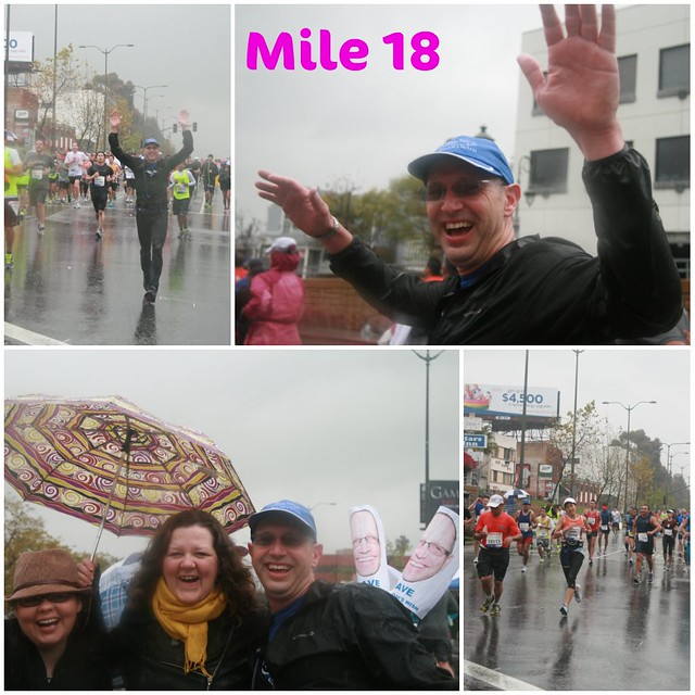 LA Marathon Mile 18