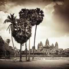 Angkor Wat Garden (veronique robin) Tags: temple cambodia angkor wat