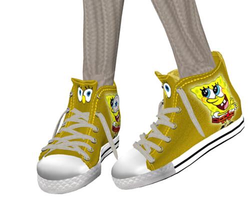 :::LiNe::: Chucks (sponge bob)