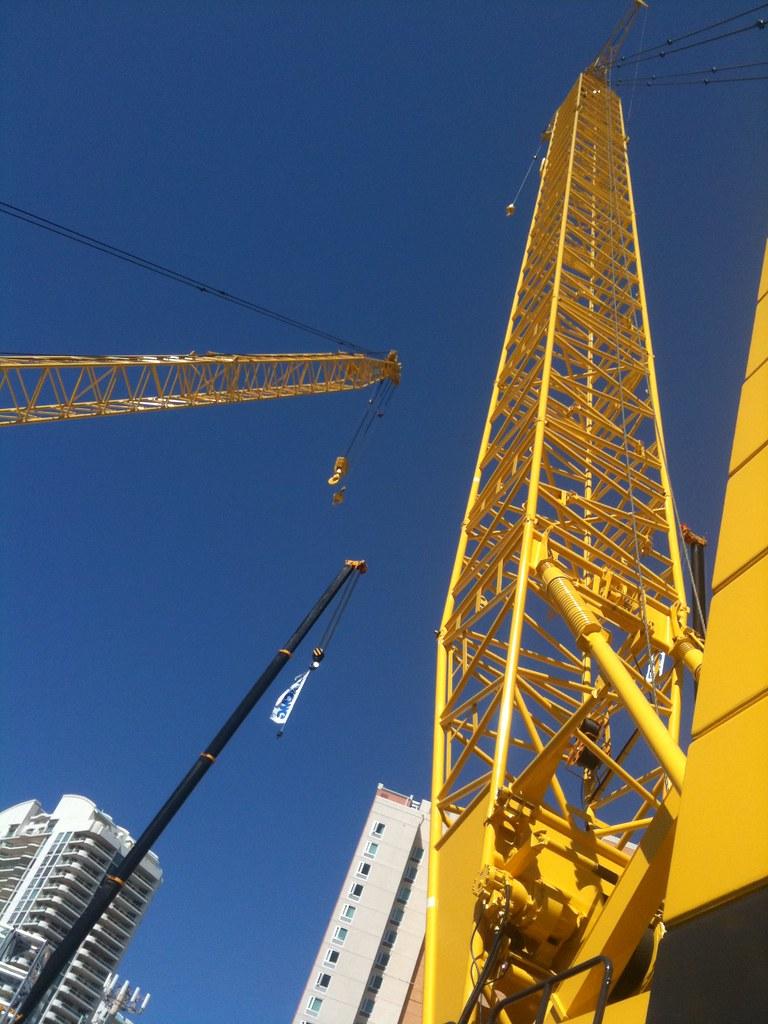 Kobelco Crawler Cranes @ ConExpo