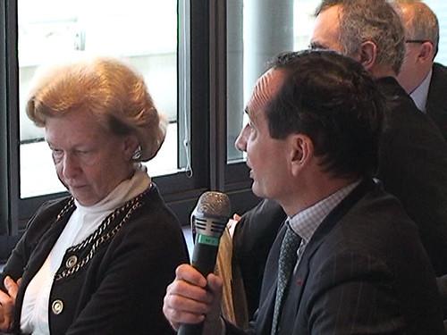 Rencontre du Cercle des Européens, John Dalli, 14 février 2011