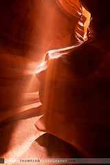 Upper Antelope Canyon (Shawn Thompson - Lake Superior Photographer) Tags: light sand slotcanyon pageaz upperantelopecanyon