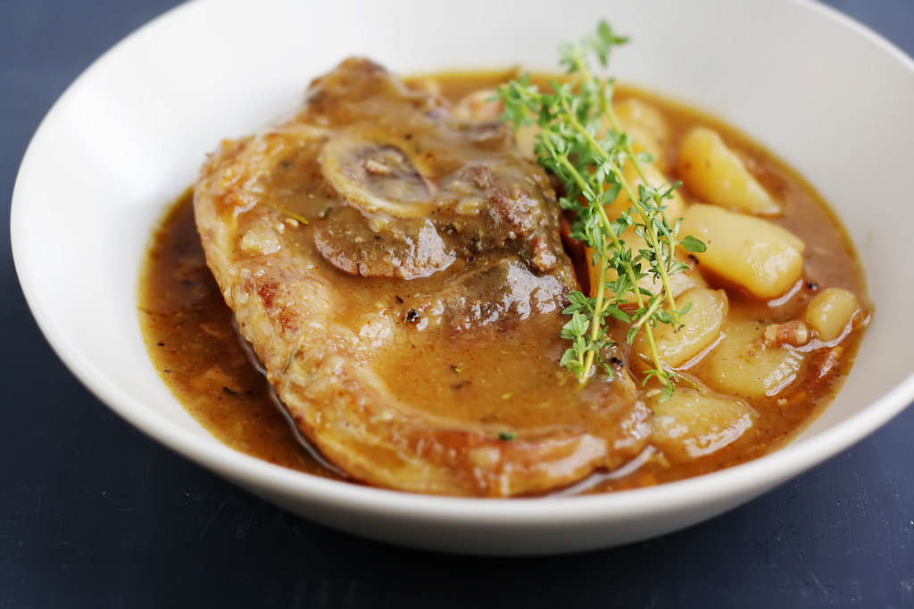 Rich Autumn Pork Stew With Beer Recipes — Dishmaps