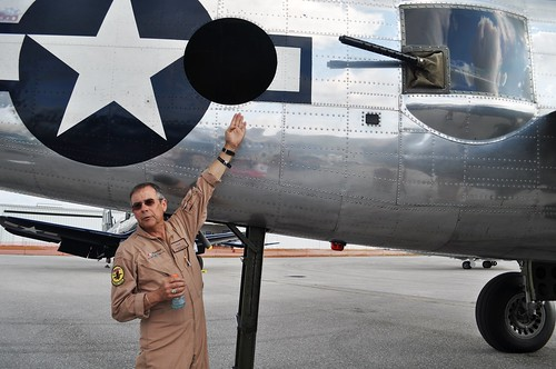 Larry Kelley, Owner of B-25 Bomber, Panchito