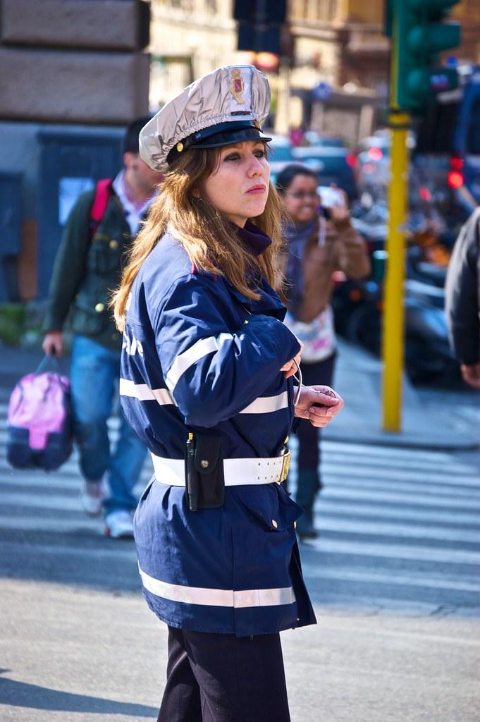 Female traffic warden in heat 2of2 french oo - 2 10