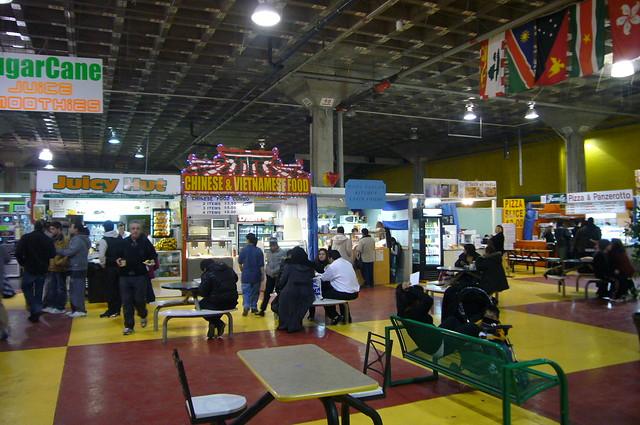 Pickering Flea Market Food Court