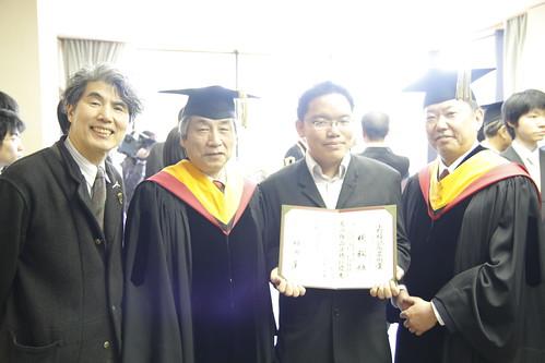 With Ando-sensei, Hashimoto-san etc.