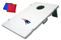 New England Patriots TailGate Toss 2.0 Plastic Cornhole Boards