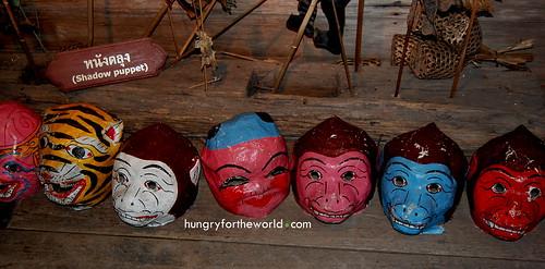 puppet masks?