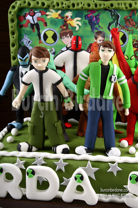 Ben 10 ve Ben 10 Alien Force Pastasi
