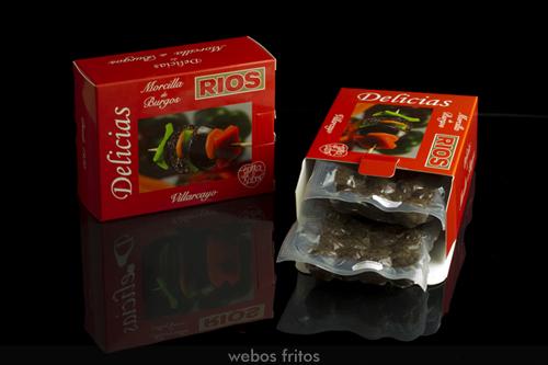 Delicias de morcilla de Burgos Rios