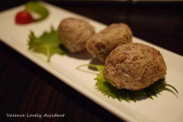 WHotel_紫豔餐廳_鴨鬆芋頭酥
