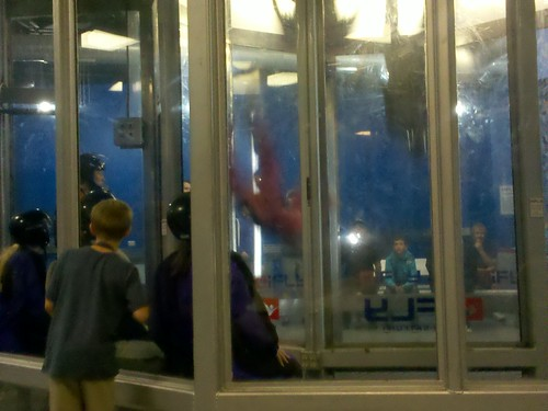 Indoor skydiving is so incredible - what a thrill!