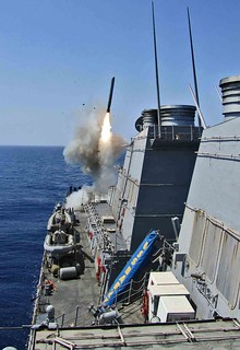 From http://www.flickr.com/photos/28650594@N03/5577263418/: USS Barry fires Tomahawk missiles [Image 2 of 2]