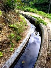 Dive into the sky (belissah) Tags: naturaleza reflection portugal nature water aqua do bea hiking walk hike madeira wandering levada vesi wanderung iphone heijastus castelejo snellman kvely belissah