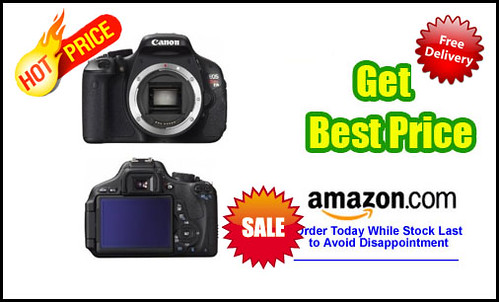 Canon EOS Rebel T3i 18 MP CMOS Digital SLR Camera and DIGIC 4 Imaging (Body Only)