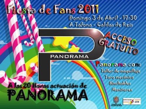 Orquesta Panorama 2011 - Festa de Fans 2011 - cartel