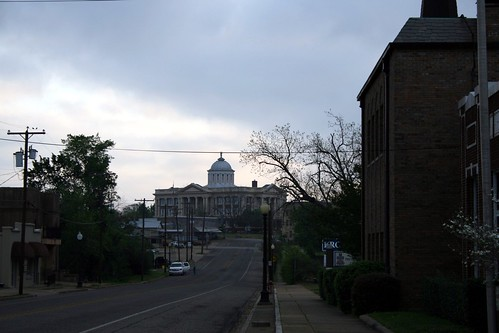 morning view of anderson county courthouse