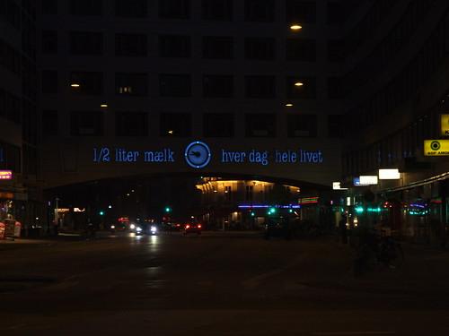 Neon sign in København