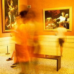 Caravaggio Blur (theaterculture) Tags: gallerianazionaledearteantica italy museum caravaggio art painting