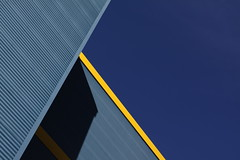 Blue walls with yellow trim, revisited (Jon Dev) Tags: