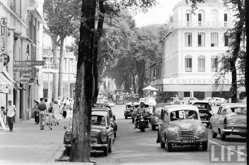 Saigon 1961 - Tu Do Street